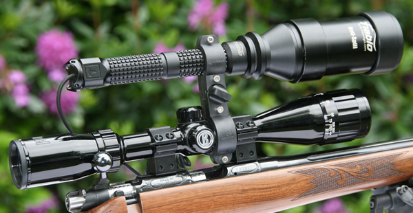4GREER MS1 Mounted on Scope and Gun