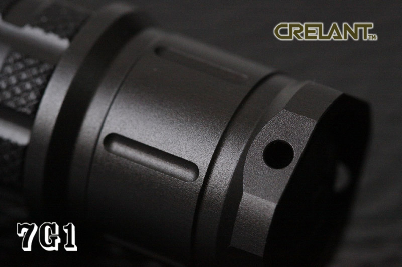 Crelant 7G1 Tail Cap View