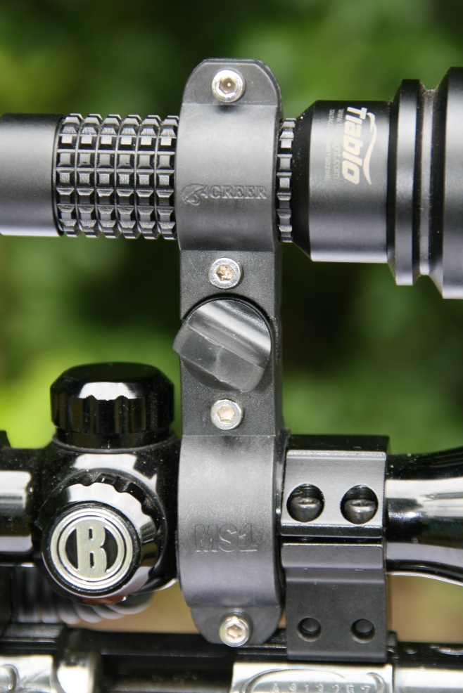 4GREER MS1 Mounted on Scope