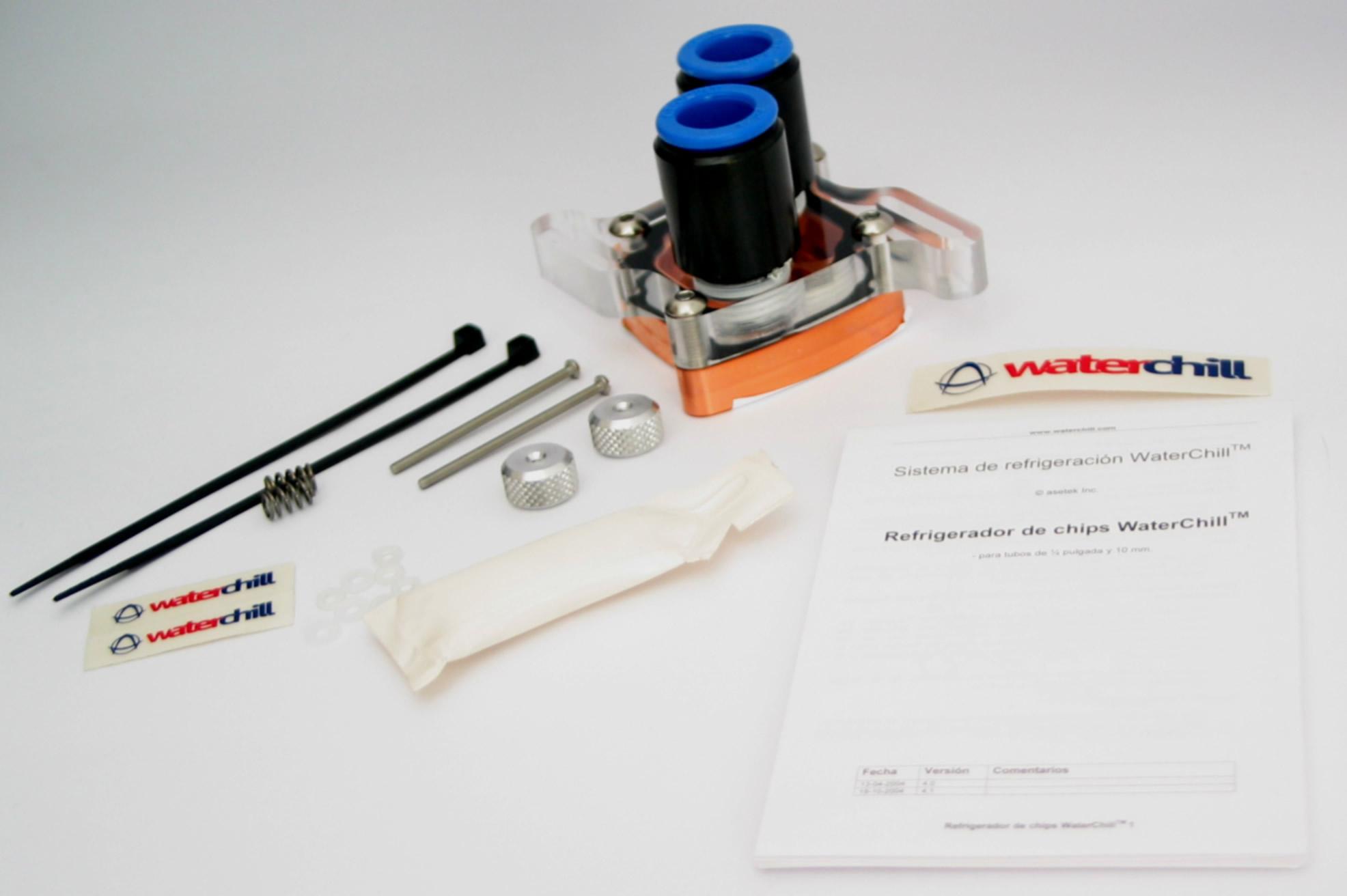 WaterChill Chipset Cooler