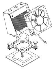 VapoChill Micro LGA 775 (Socket T) Mounting Mechanism (06-L-1002)