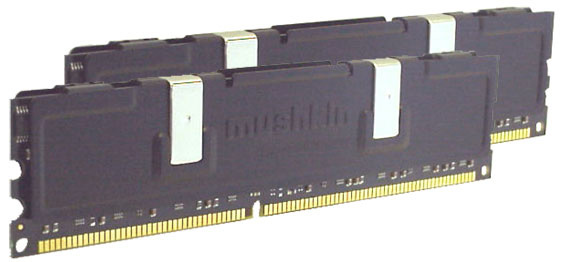 Mushkin Dual Black memory modules